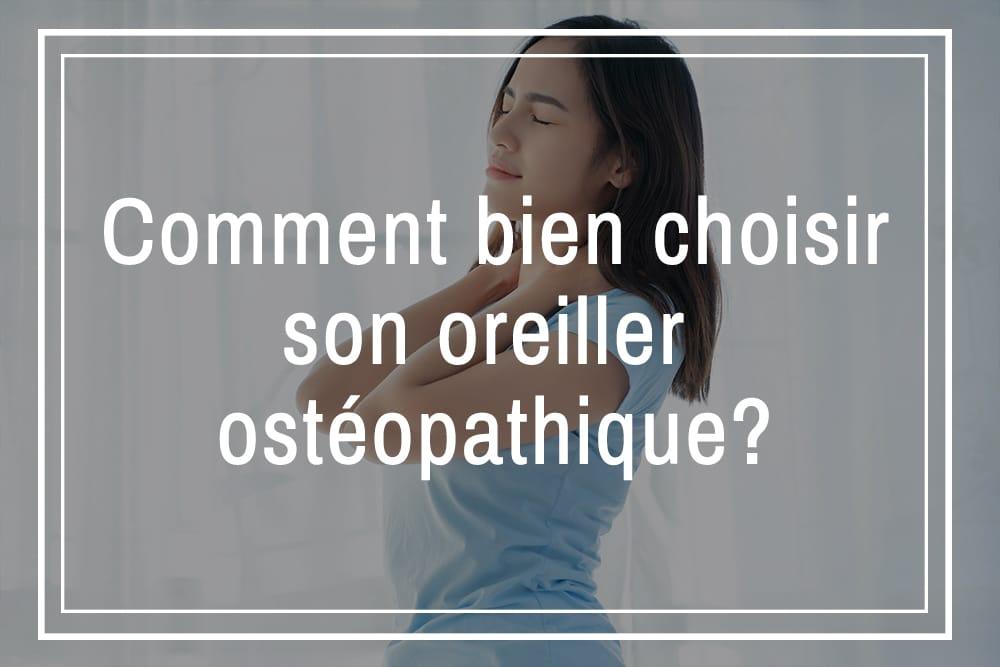 oreiller ostéopathique